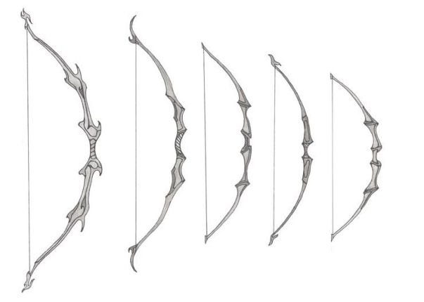 bow and arrow in fantasy