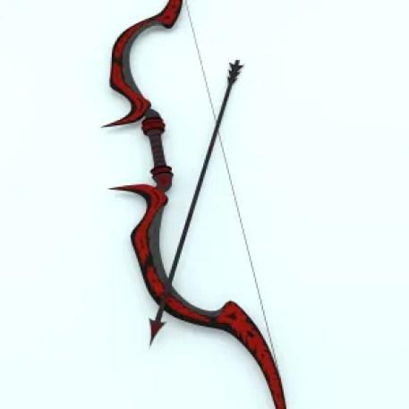 fantasy bow and arrow