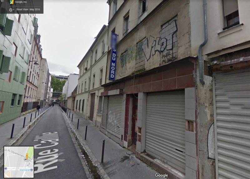 Old closed blues bar, Paris
