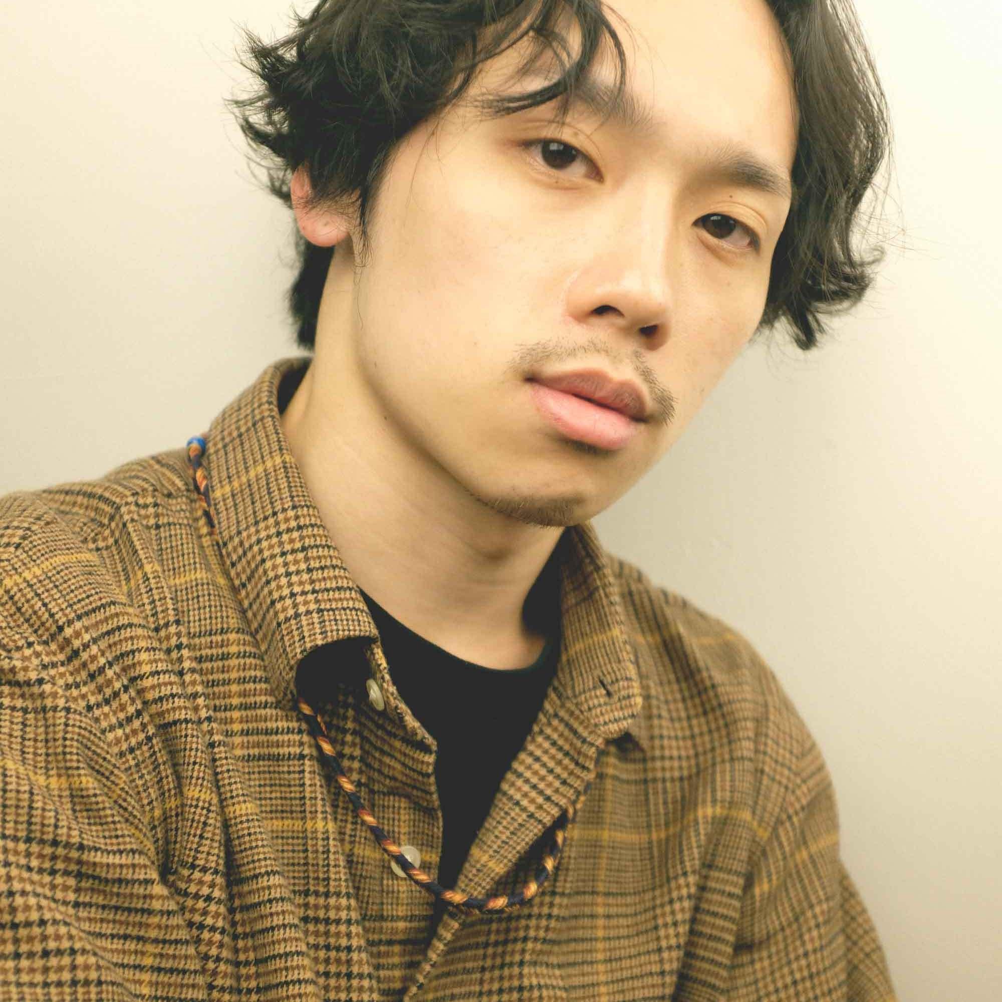男生 日系捲髮