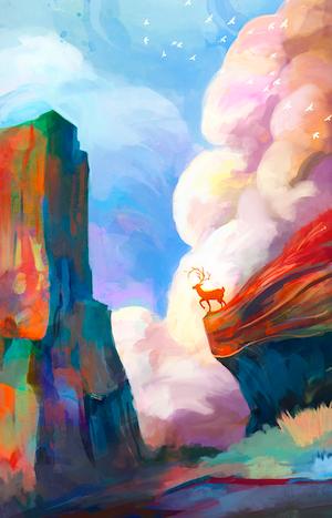 rainbowdeer