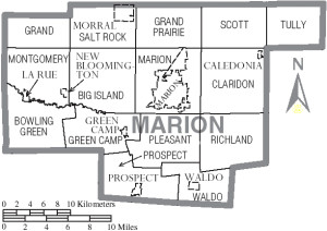 Marion County Richland Township Map
