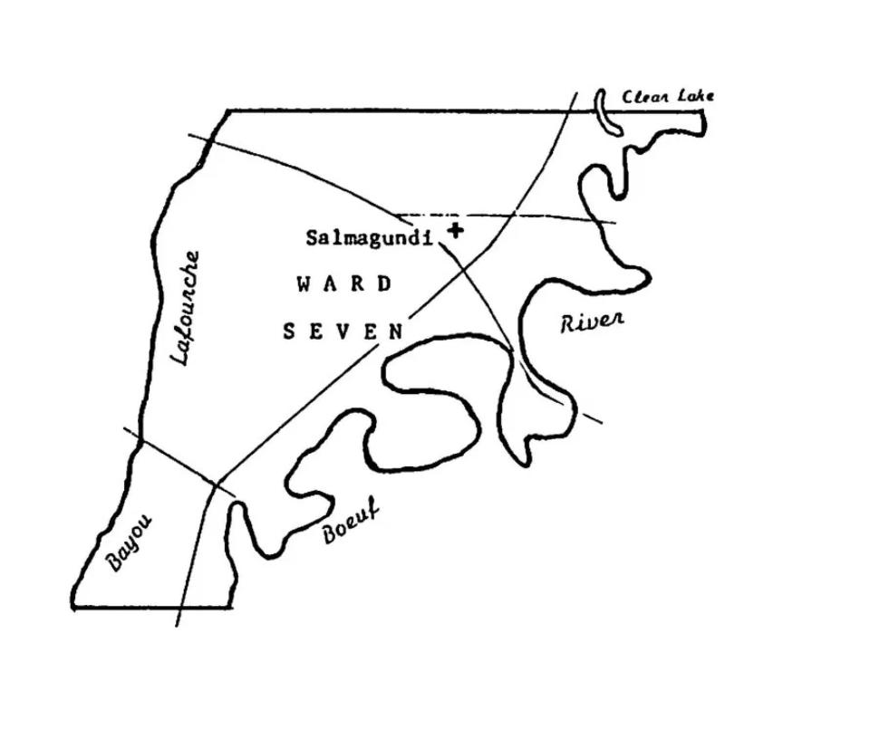 "The ""Ouachita Parish"" Section of Richland Parish, ca 1857-1868"