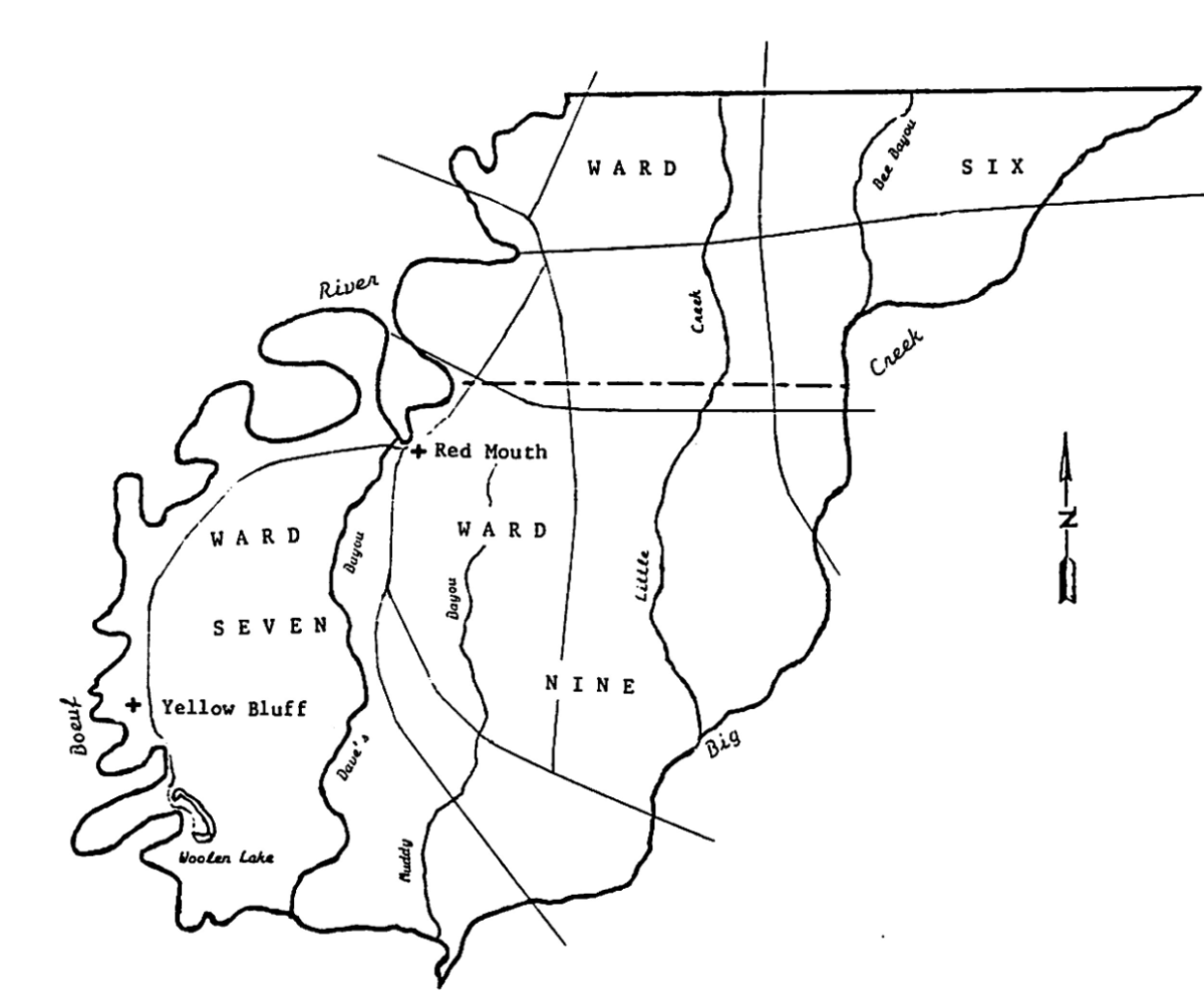 "The ""Franklin Parish"" Section of Richland Parish, ca 1857-1868"