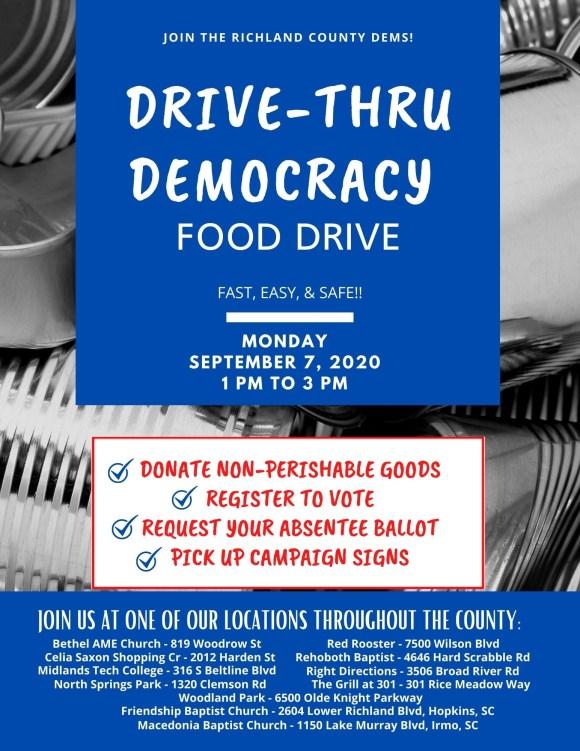 Drive Thru Democracy