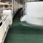 Boden auf Schiff