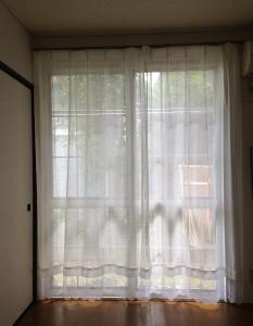 我が家のカーテン