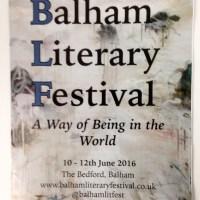 Balham enters the Anthropocene