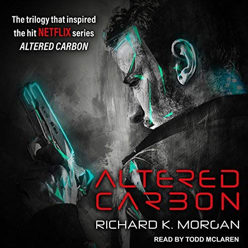 Altered Carbon audiobook cover