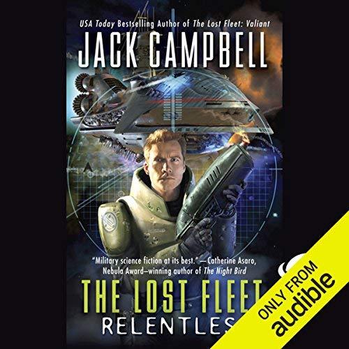 Relentless audiobook cover