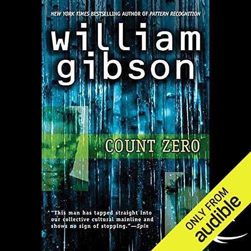 Count Zero audiobook cover