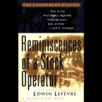 Reminiscences of a Stock Operator audiobook cover