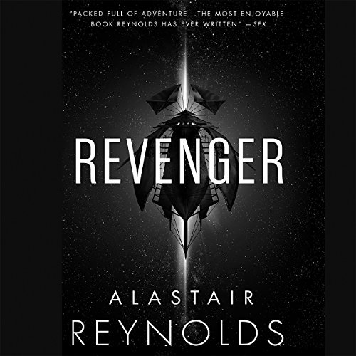 Revenger audiobook cover