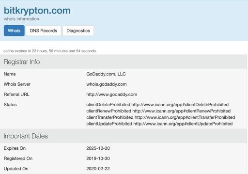 Bitkrypton Domain