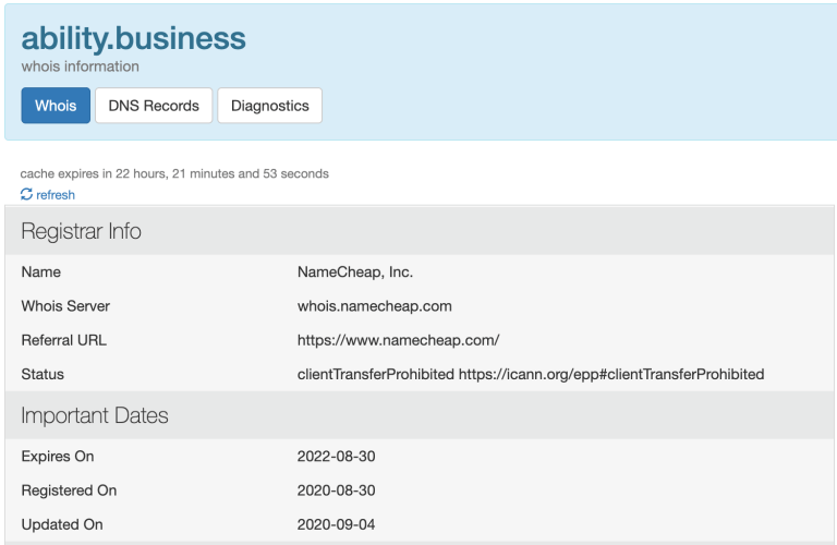 Ability.business domain