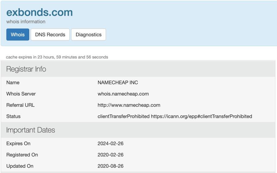 Ex Bonds Domain