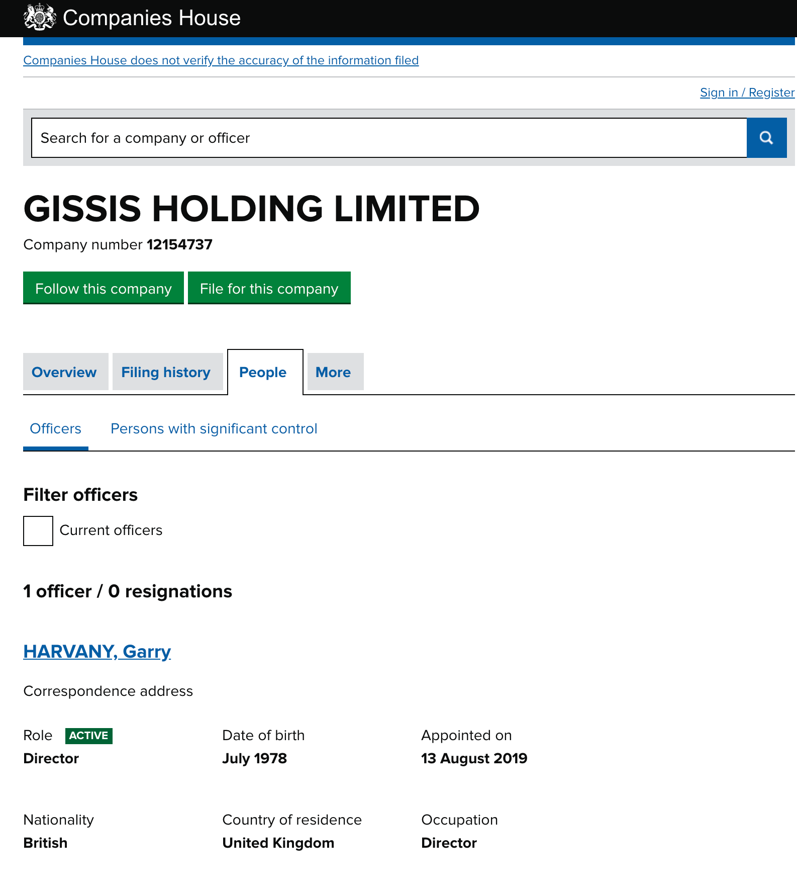 Gissis Scam