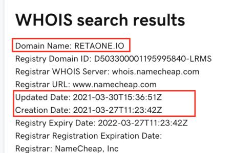 Retaone domain