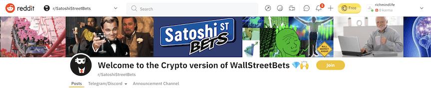SatoshiStreetBets Safemoon