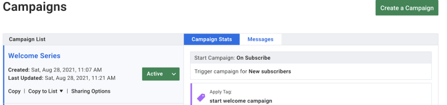 How To Create A Campaign In Aweber