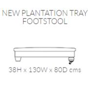 plamtation footstool
