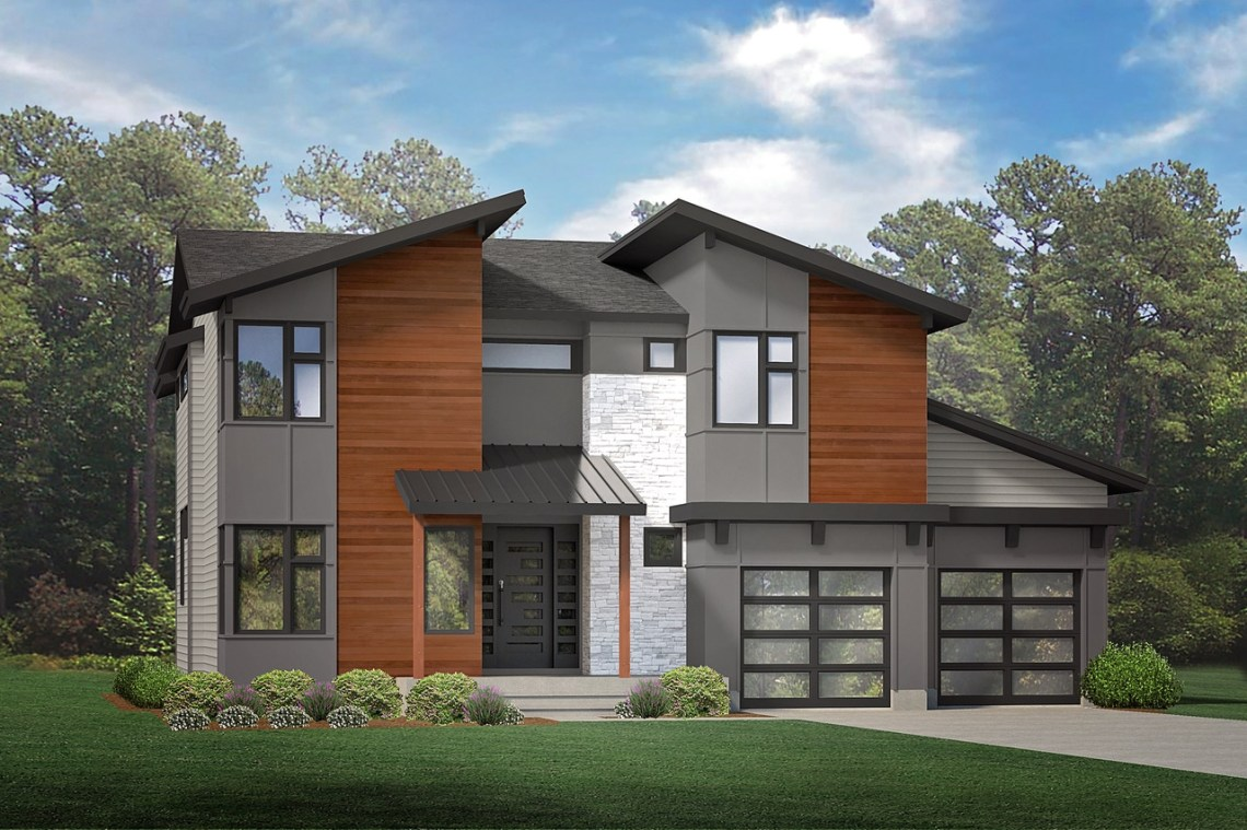 Modern-style homes to fill suburban development's next ...