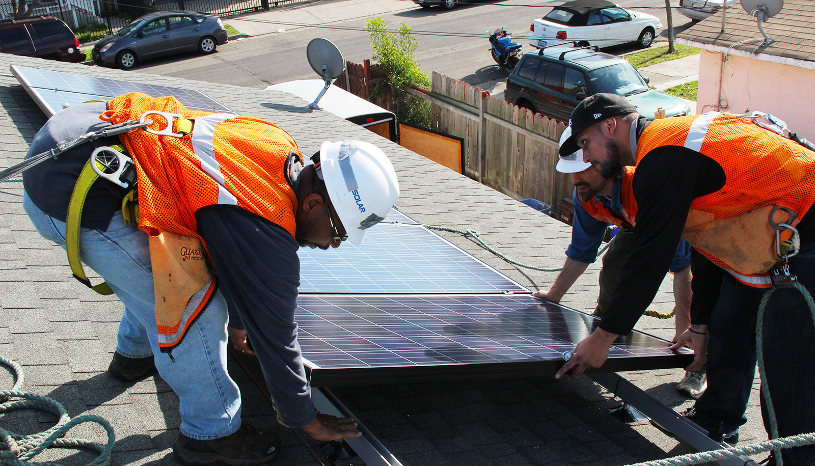 A Marine Veteran In The Iron Triangle Goes Solar