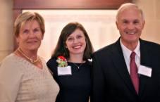 Joley receives LINC Volunteer of the Year Award, May 2014