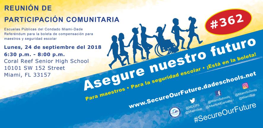Town Hall 9.24.18 Invite SPANISH