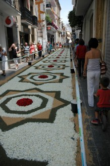 street of flowers sitges