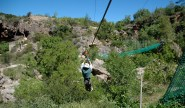 D on first zip line