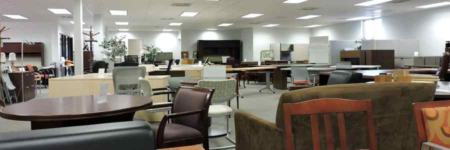 New   Used Office Furniture in Richmond  VA   Cubicles Used office furniture showroom in Richmond VA