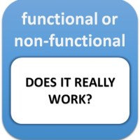 Functional or non-functional: does it really work?