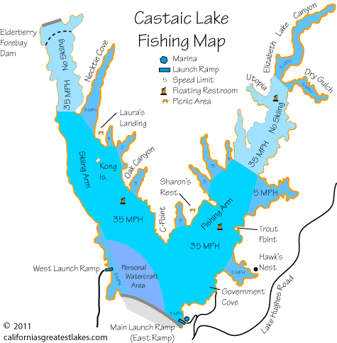 castaic_lake_fishing_map