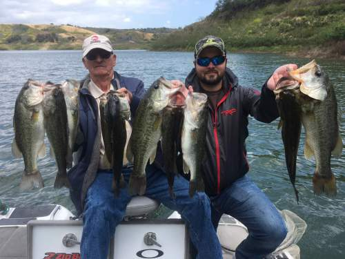 Southern California Bass Fishing Guide Service - Lake Casitas 05/15/2017
