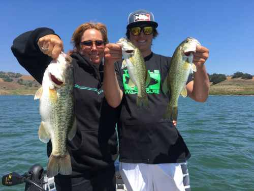 Lake Casitas Bass Fishing Guide Service - 07/01/2017