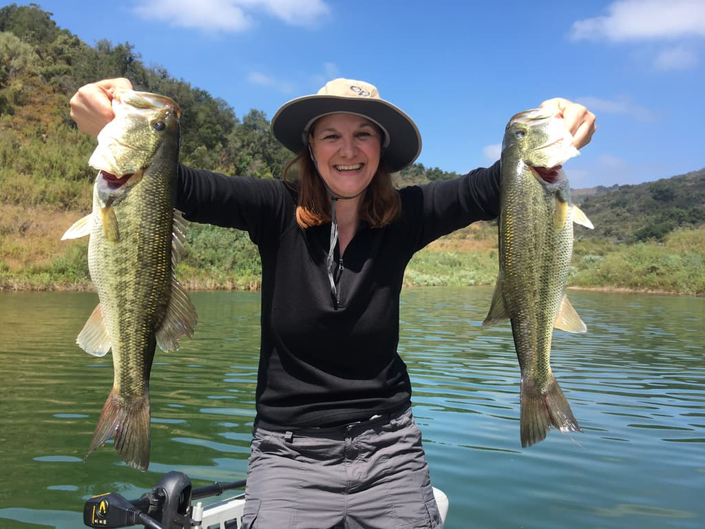 Lake Casitas Bass Fishing Guide Service - 07/02/2017