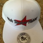 Rich Tauber Fishing Hat White