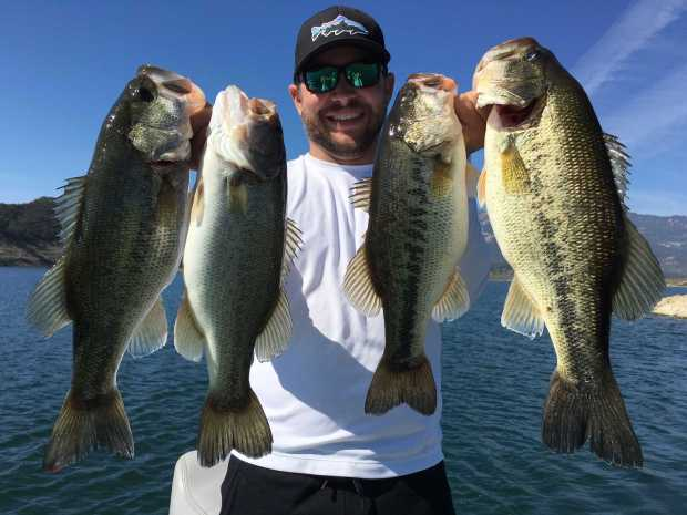 Lake Casitas Fishing Guide Report 01/11/2017