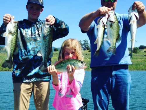 Southern California Bass Fishing Guide Service - Lake Casitas 04/17/2017
