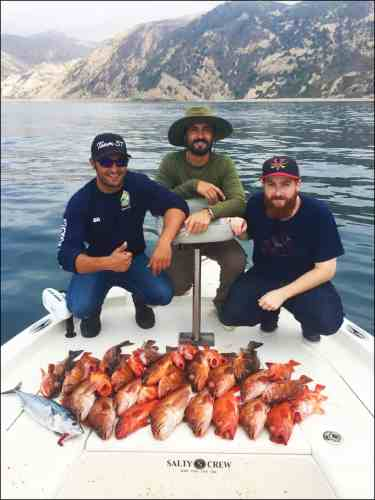 Saltwater Fishing Charter Report 09/17/2017 4