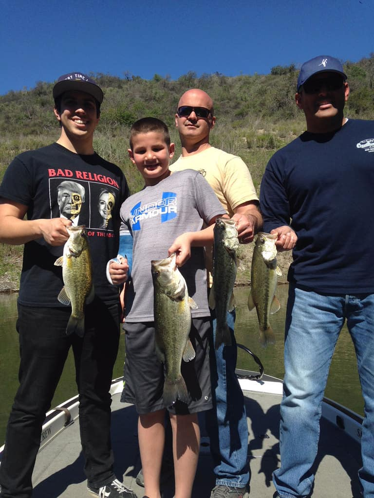 Lake Casitas Bass Fishing Guide Service - 03/27/2018