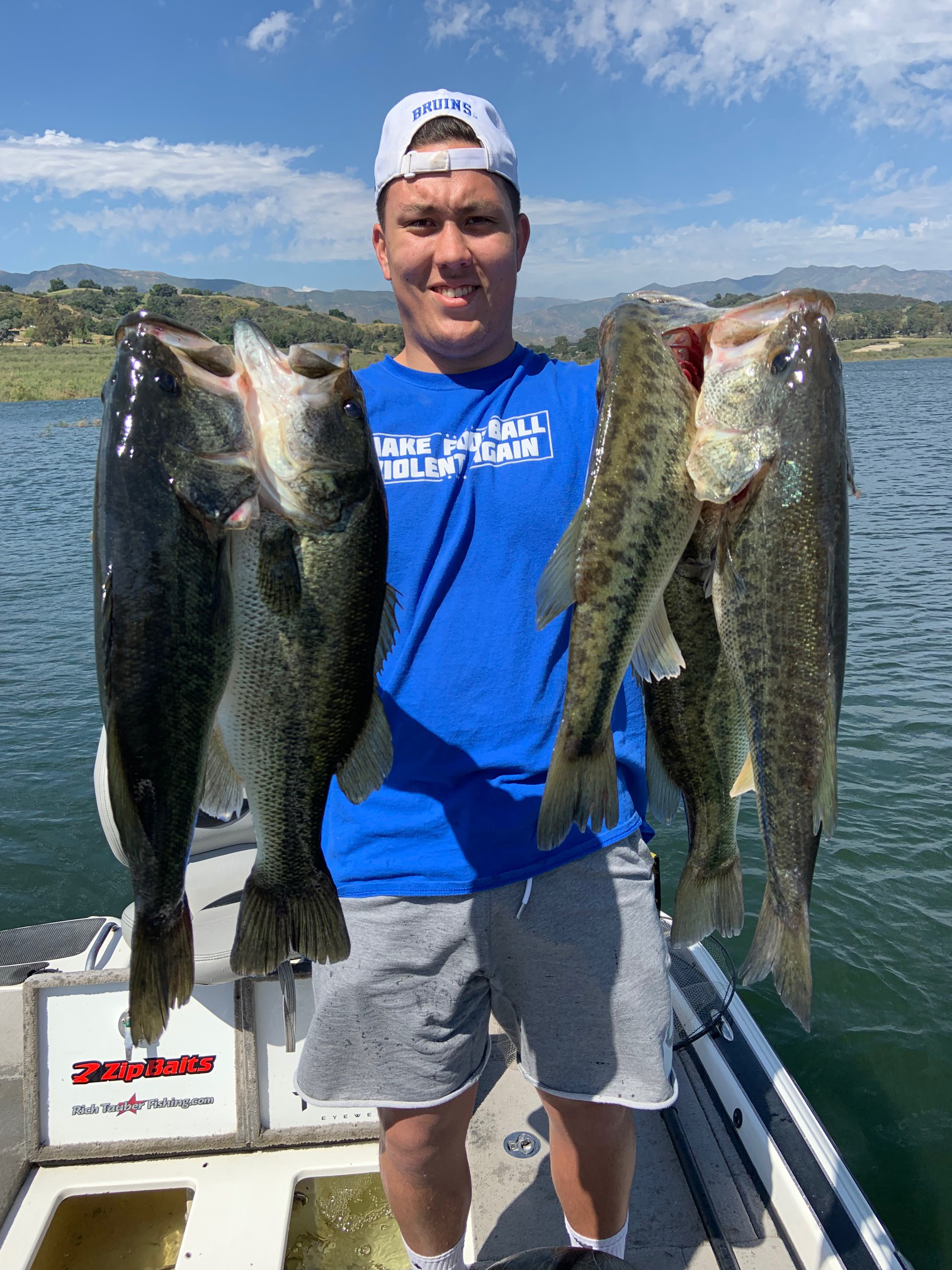Lake Casitas Fishing Guide Report - bass, trout, crappie, and cat fish