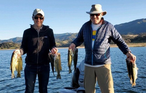 Southern California Bass Fishing Guide's Report 02/10/2020