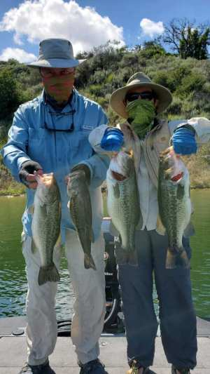 Southern California Bass Fishing Guide's Report 05/12/2020