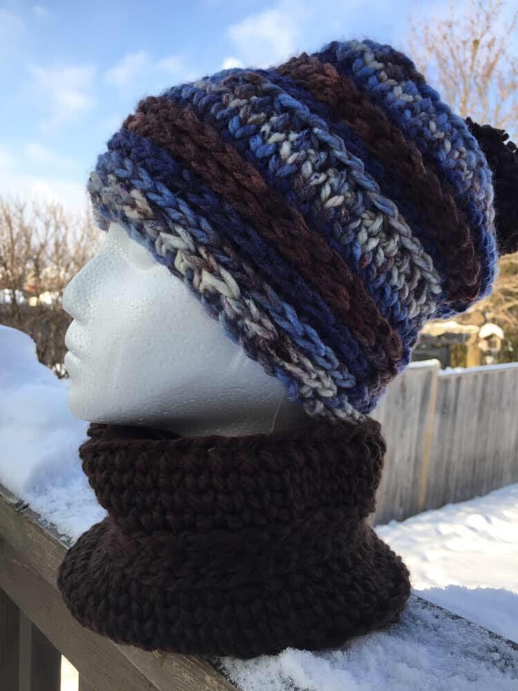 Crochet children's hat
