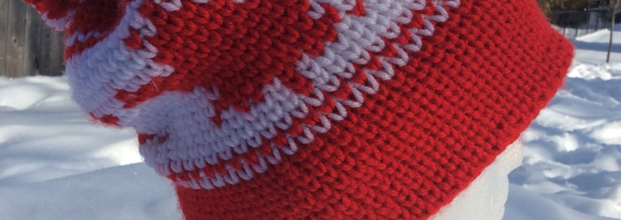 Maple Leaf Toque Hat A Free Crochet Pattern Rich Textures Crochet
