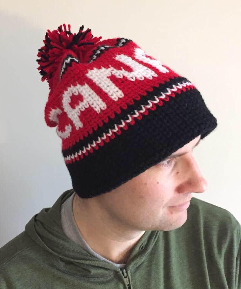 Crochet Canada Hat