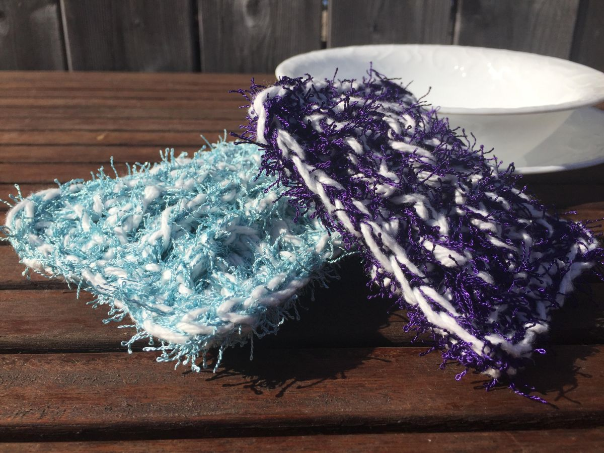 Spring Cleaning Day Four! One Tough Scrubby - A free Crochet Pattern