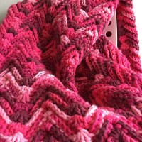Waves of Passion Throw - A Free Crochet Pattern